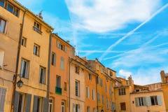Construções velhas em Aix-en-Provence, França Fotografia de Stock Royalty Free