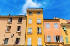 Construções velhas em Aix-en-Provence, França Imagens de Stock Royalty Free