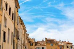 Construções velhas em Aix-en-Provence, França sul Fotografia de Stock Royalty Free