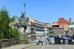 Construções velhas em Porto, Portugal Fotos de Stock