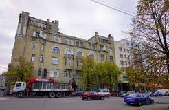 Construções velhas em Vyborg, Rússia Foto de Stock Royalty Free