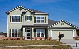 Construído recentemente para casa Foto de Stock Royalty Free