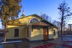 Construa a igreja do monastério do ` s do St Cyril e a catedral, Kiev, Ucrânia Fotografia de Stock