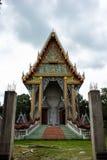 Construa o templo Tailândia. Fotografia de Stock Royalty Free