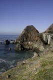 Construa uma ponte sobre na estrada 1 Fotografia de Stock