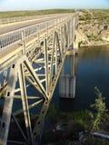 Construa uma ponte sobre sobre o rio de Pecos Imagens de Stock Royalty Free