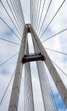 Construa uma ponte sobre a sustentação Foto de Stock Royalty Free