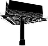 Construcción 02 de la publicidad al aire libre de la cartelera Imagen de archivo libre de regalías