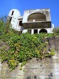 Construcción abandonada de la casa Imagen de archivo libre de regalías