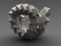 Construcción abstracta Imágenes de archivo libres de regalías