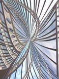 Construcción abstracta Imagen de archivo