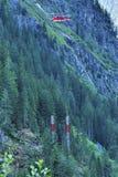 Construcción alpina Fotografía de archivo