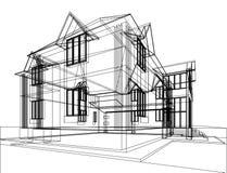 Construcción arquitectónica abstracta stock de ilustración