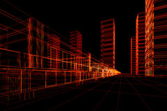 Construcción arquitectónica abstracta