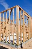 Construcción casera residencial Fotos de archivo
