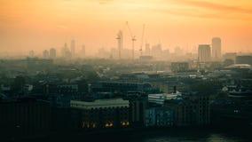 Construcción cerca de Vauxhall, Londres Imagen de archivo libre de regalías