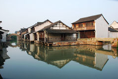 Construcción civil de China de Wuzhen Imagen de archivo