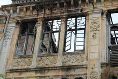 Construcción clásica de las ventanas Foto de archivo