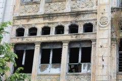 Construcción clásica de las ventanas Fotografía de archivo