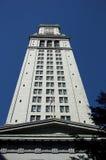 Construcción - Clocktower Fotografía de archivo