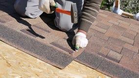 Construcción Colocación de un tejado suave