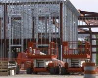 Construcción de acero Fotografía de archivo libre de regalías