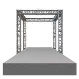 Construcción de acero del tejado de la viga del braguero libre illustration