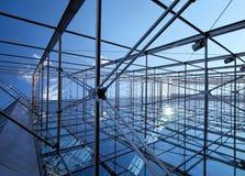 Construcción de alambre de acero Imagen de archivo libre de regalías