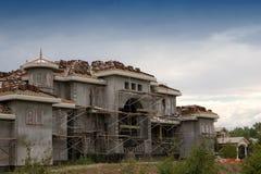 Construcción de albañilería Foto de archivo
