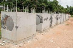 Construcción de alcantarillas Imagen de archivo