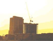 Construcción de Apaprment Fotos de archivo