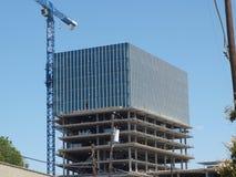 Construcción de arriba hacia abajo Fotografía de archivo