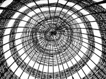 Construcción de bambú abstracta Fotos de archivo libres de regalías