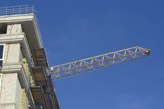 Construcción de BU residenciales Foto de archivo libre de regalías
