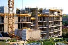 Construcción de Builnding Foto de archivo libre de regalías