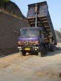Construcción de caminos rurales Foto de archivo