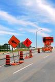 Construcción de carreteras foto de archivo libre de regalías