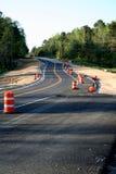 Construcción de carreteras Imagen de archivo libre de regalías