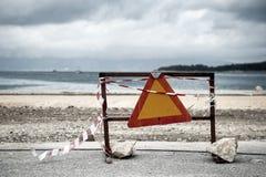 Construcción de carreteras en curso Imagen de archivo