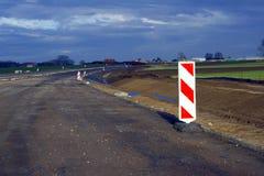 Construcción de carreteras expresa Foto de archivo libre de regalías