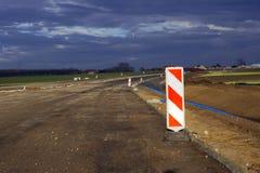 Construcción de carreteras expresa Imágenes de archivo libres de regalías