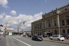 Construcción de DENMARK_metro Foto de archivo