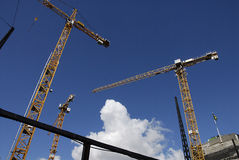 CONSTRUCCIÓN DE DENMARK_SAGA Foto de archivo libre de regalías