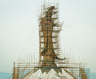 Construcción de dios chino Imagenes de archivo