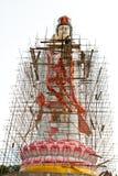 Construcción de dios chino Imagen de archivo libre de regalías