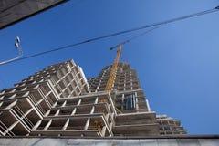 Construcción de edificios Imágenes de archivo libres de regalías