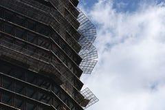 Construcción de edificios concretos imagen de archivo