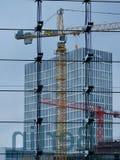 Construcción de edificios en Berlín Imagen de archivo libre de regalías