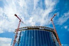 Construcción de edificios moderna imagenes de archivo