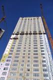 Construcción de edificios residenciales Imágenes de archivo libres de regalías